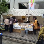 今日から3日間葛飾産業フェアで蜂蜜販売です(*^_^*)