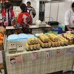 今日と明日は東京で蜂蜜販売です(^^)